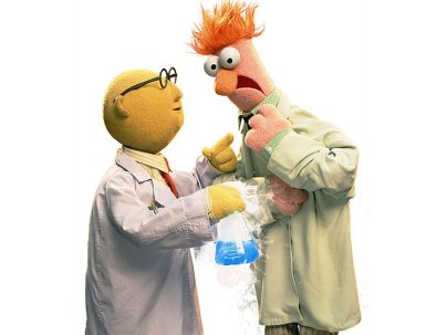DR Bunsen Honeydew And Beaker