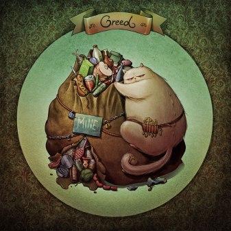 GREED deadly-catsins-marija-tiurina-3