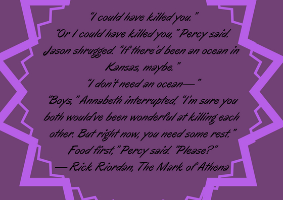 Percy food quote