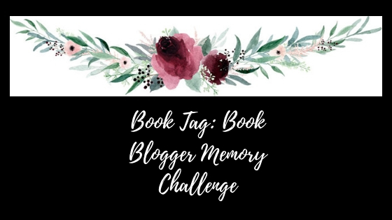 Book Tag_ Book Blogger Memory Challenge